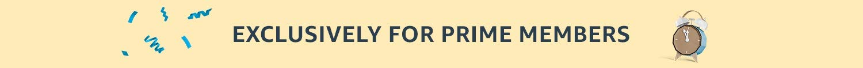 Prime only offer