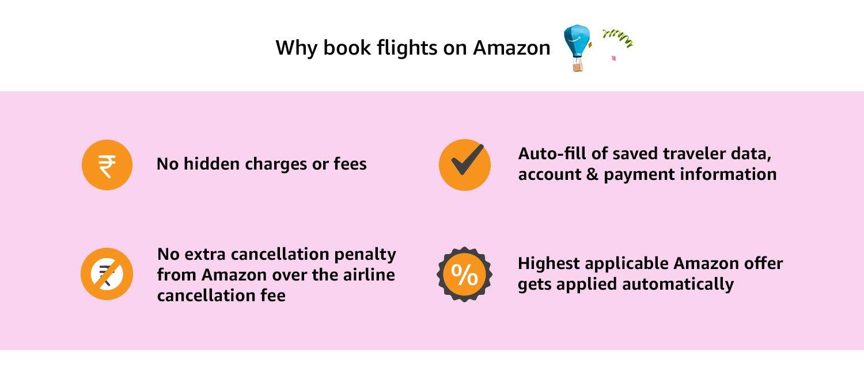 Why book flights on Amazon