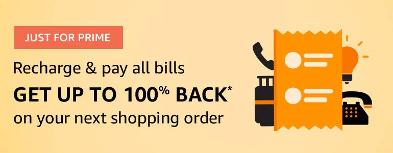 [ Prime ] Get Rs.1000 Cashback on Rs.1000 shopping On Amazon