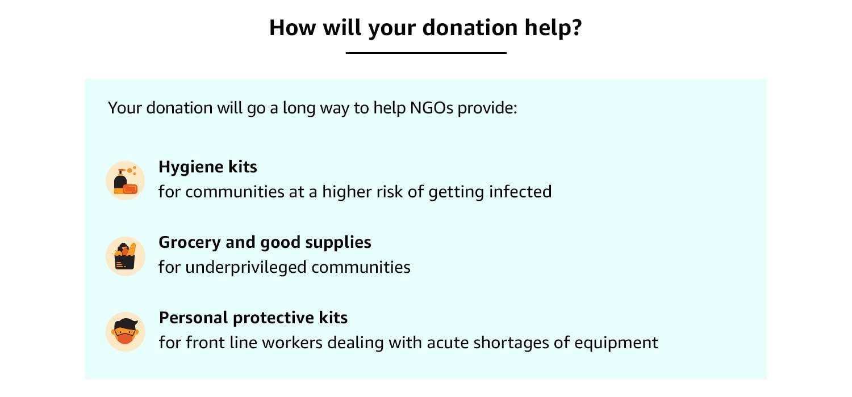 Donation Help