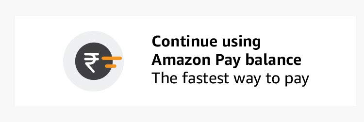 Continue using Amazon pay