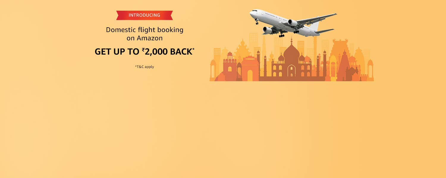 Introducing domestic flight bookings on Amazon