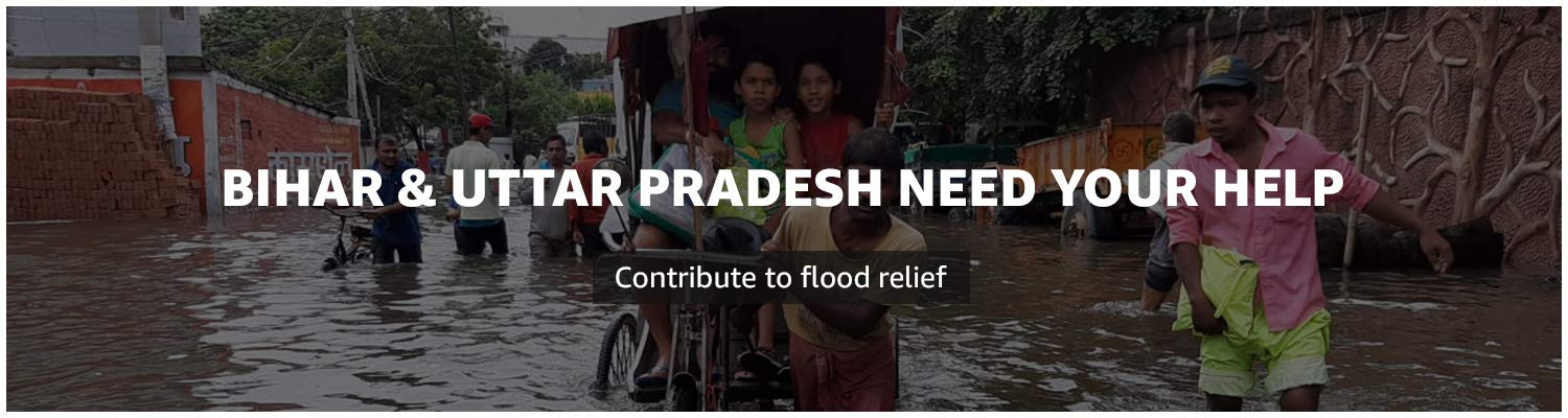 Contribute for flood relief in Bihar & UP