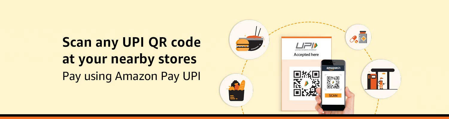 Scan & Pay at your nearby stores using Amazon Pay UPI