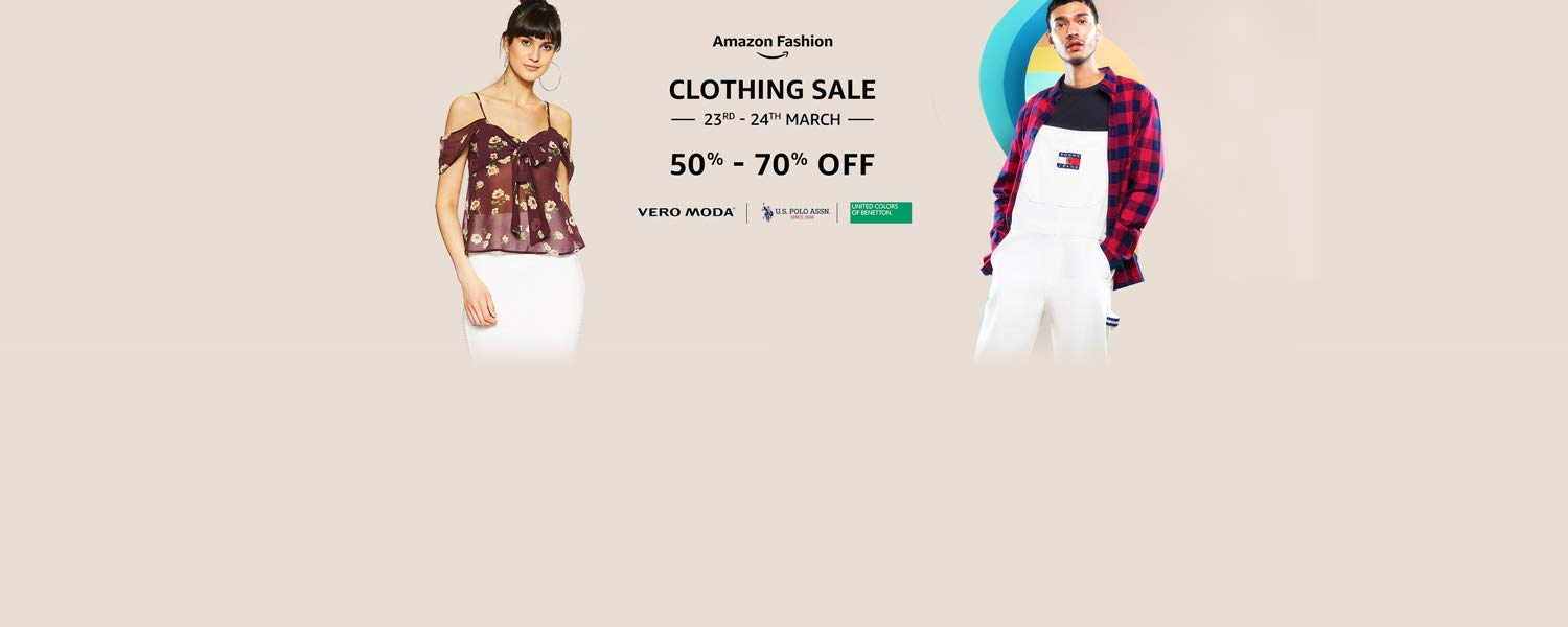 Clothing Sale: 50% - 70% off