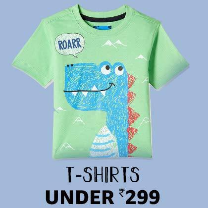 T-shirts under 299