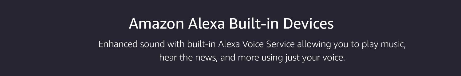 Alexa enabled smart speakers