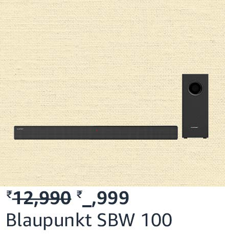 Blaupunkt SBW 100