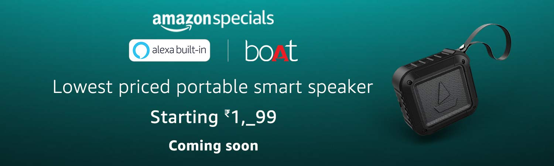 Alexa enabled smart speakers