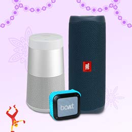 Up to 50% off   Bluetooth speakers