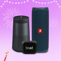 Up to 50% off | Bluetooth speakers