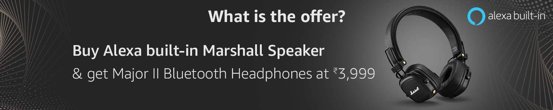 Marshall Alexa Offer