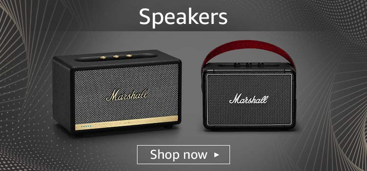 Marshall Special Offers : Buy Alexa Built Marshall Speakers & Get Major II Bluetooth On-Ear Headphone at Rs.3,999 | Upto Rs.1250 Off with Coupons | No Cost EMIs (21st To 25 April) at Amazon India