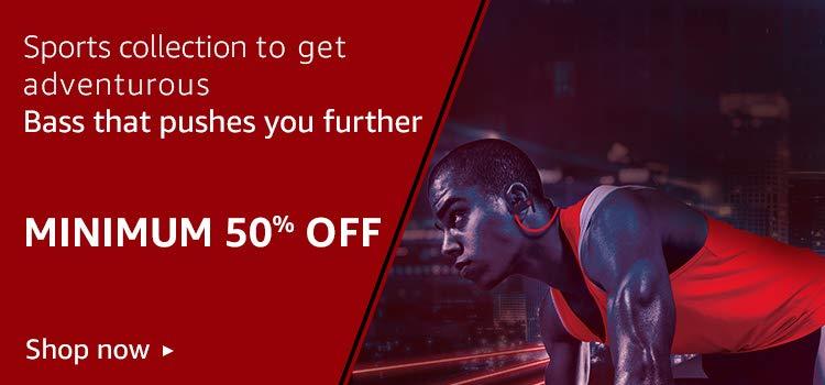 Nu Republic Sports Collection Minimum 50% off