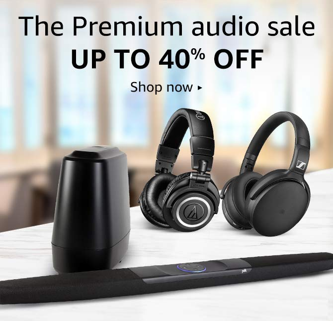 Premium audio sale