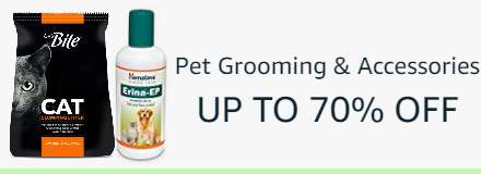 pet grooming & accessories