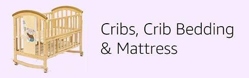 Cribs, bedding & mattress