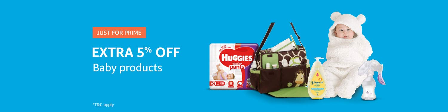Prime offers on baby products