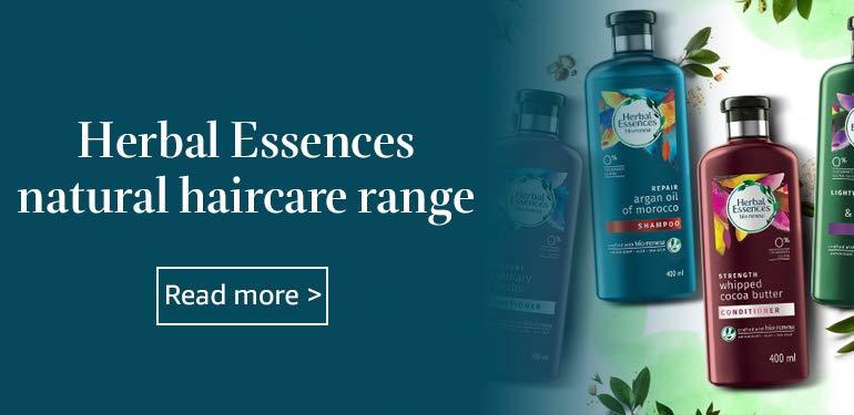 Herbal Essences naturally derived haircare range