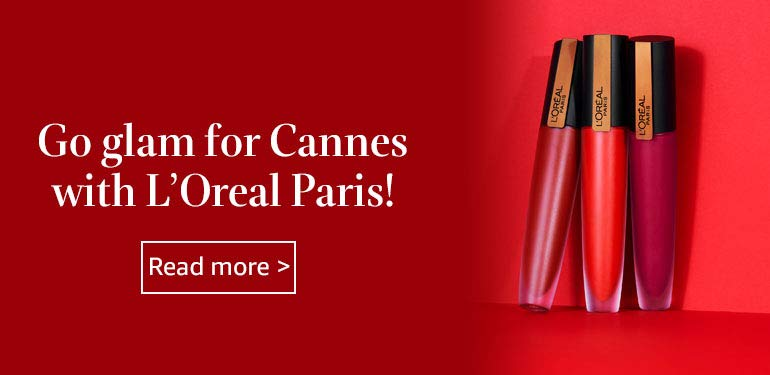 Loreal Cannes collection