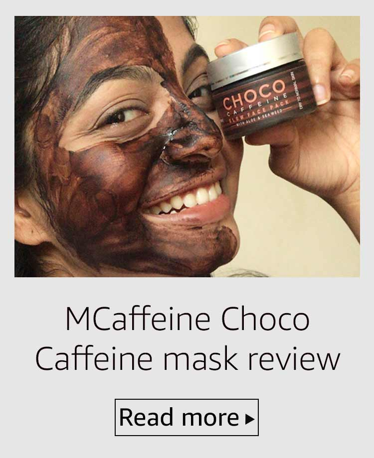 MCaffeine Choco Caffeine glow face pack review