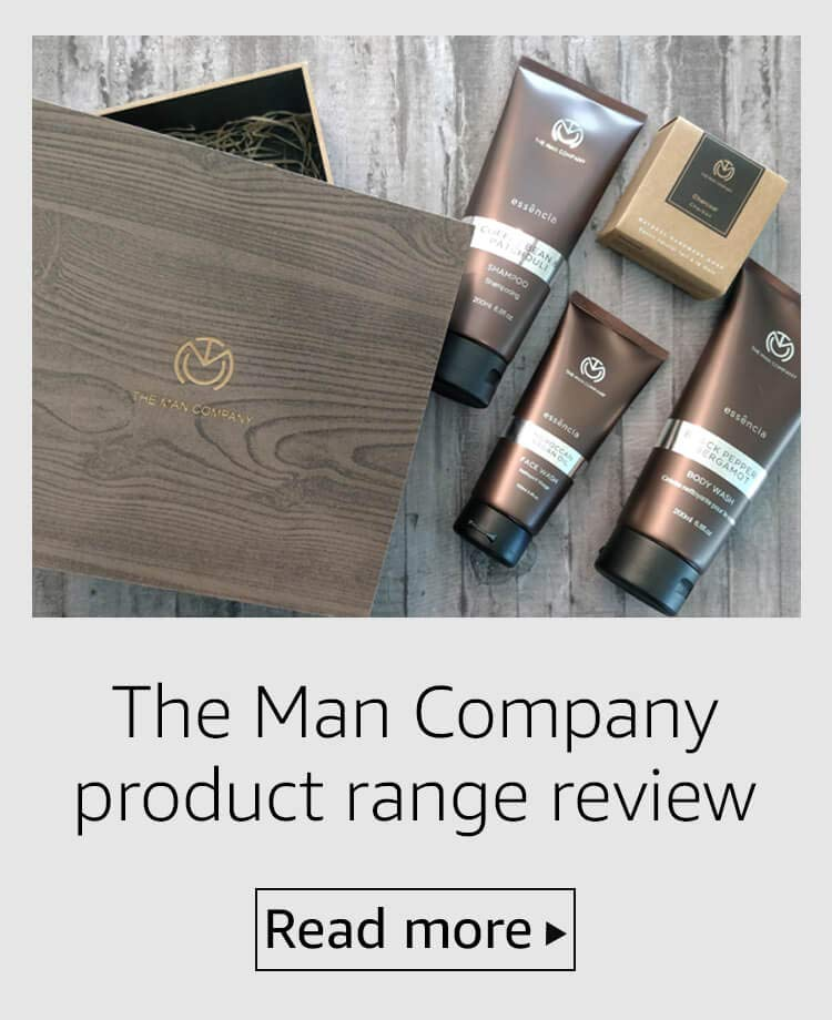 The Man Company face wash, body wash and soap