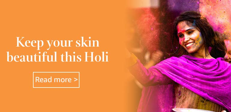 Keep your skin beautiful this Holi