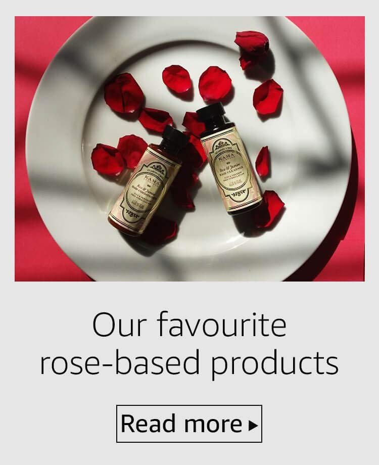 Our favourite rose-based products