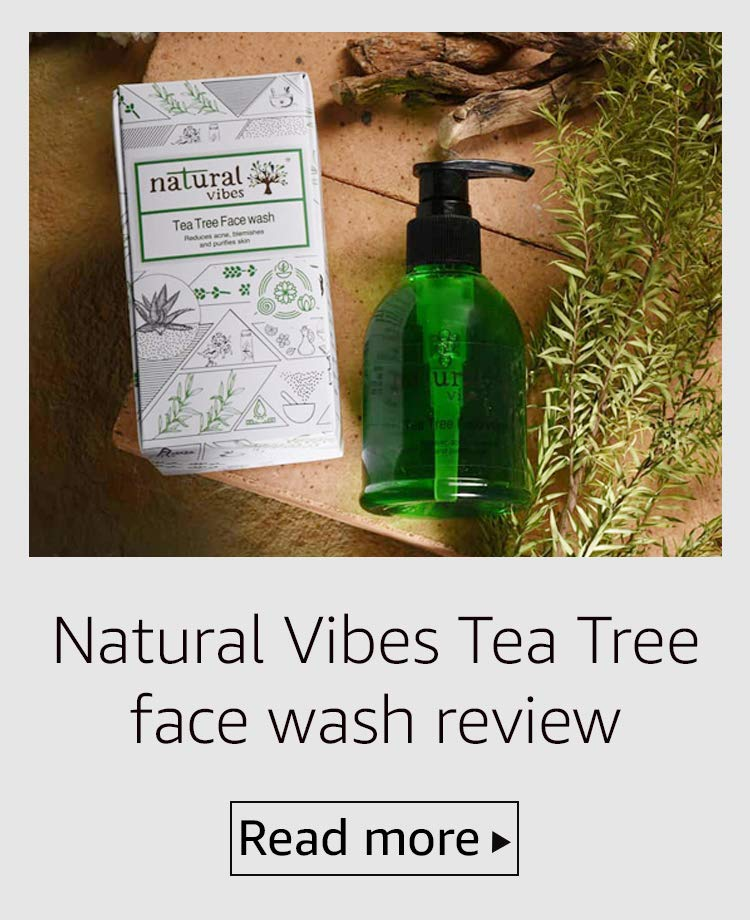 Natural Vibes face wash
