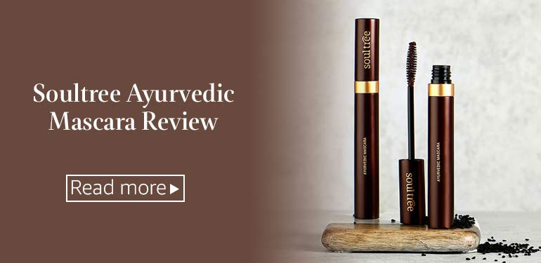 Soultree Ayurvedic Mascara Review