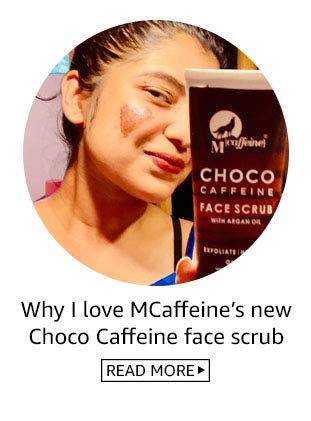 MCaffeine Choco scrub review