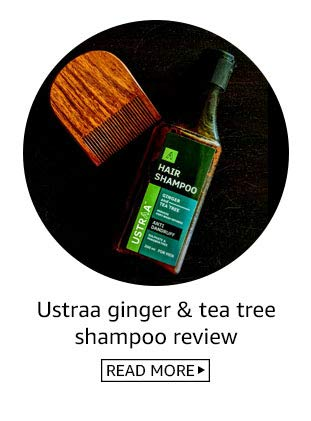 Ustraa anti hairfall shampoo review