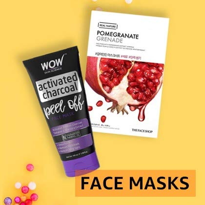 Face packs & masks