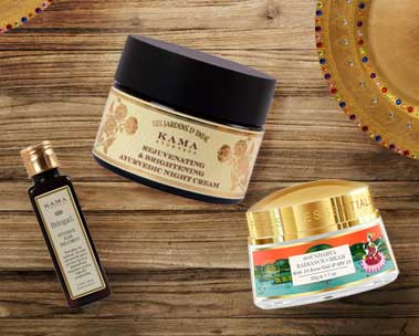 Luxury Ayurveda products