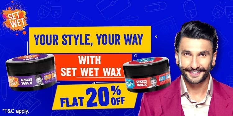 Set wet wax