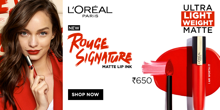 L'Oreal Rouge Signature