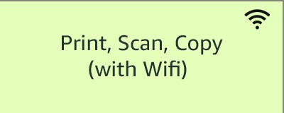 Print, Scan, Copy (with WiFi)