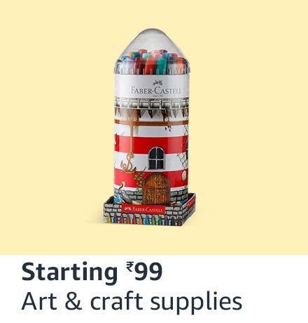 Art supplies starting 99