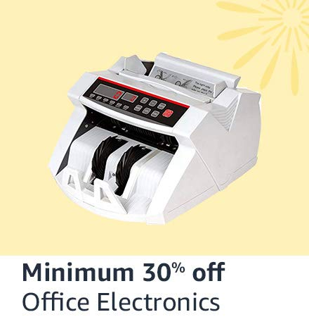 Office electronics minimum 30% off