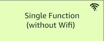 Single Function (without WiFi)