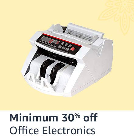 Office electronics minimum 30% off