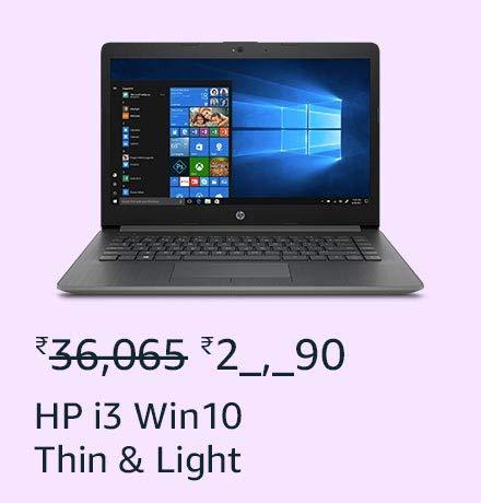 HP i3 Win10 Thin & Light