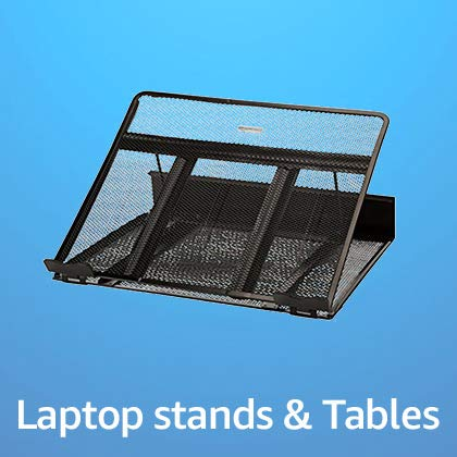 Laptop stands and tables