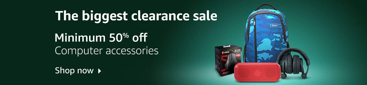 The biggest clearance sale