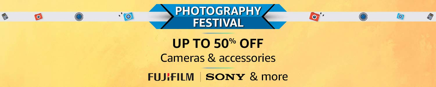 World Photography Day Festival Offer - 50% off