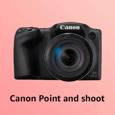 Canon Point & Shoot cameras