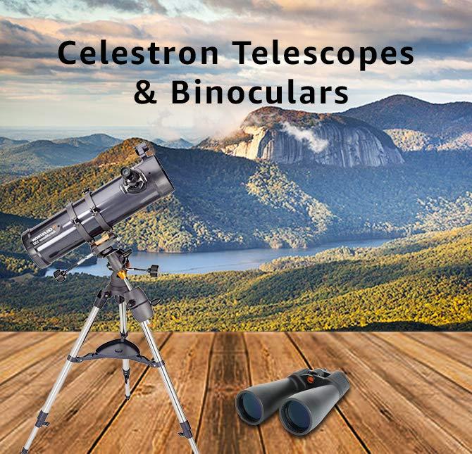 Celestron Telescopes & Binoculars