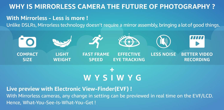 Mirrorless System Cameras: Buy Mirrorless System Cameras