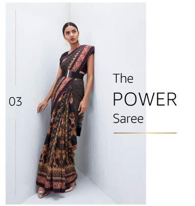 power saree