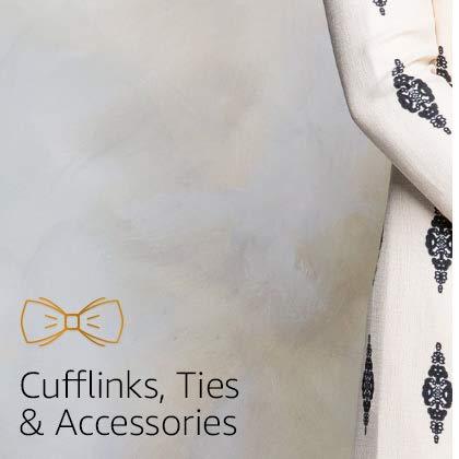Cufflinks, Ties & Accessories